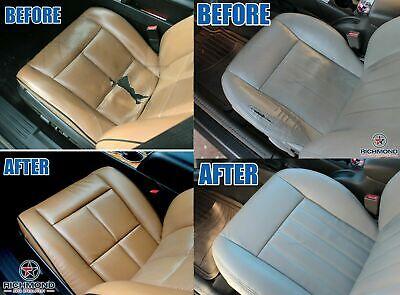 2005 Cadillac Escalade ESV Platinum Edition-Driver Bottom LEATHER Seat Cover Tan