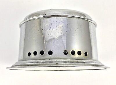 Celeste Yacht Alarm mechanical bulk head clock in chrome finish 2