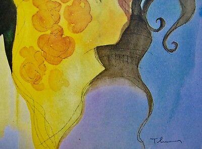 Itzchak Tarkay DISREGARDING Signed Limited Edition Original Lithograph Art 3