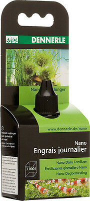 Dennerle Nano Daily Fertilizer Concentrate Aquarium Plant Fertiliser  15ml 3000L 3