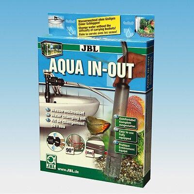JBL Aqua In Out - Wasserwechsel Komplett Set Bodenreinigung Aquarium Reinigung 3 • EUR 48,90