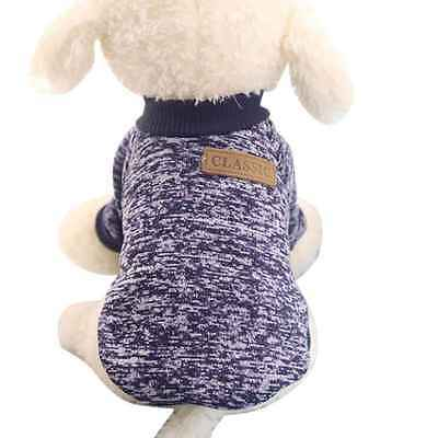 Clothes for Pet SWEATER Chihuahua Yorkie Small Dog Coat Jacket Fleece Soft Warm 9