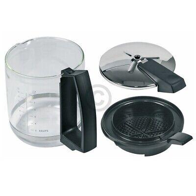 Glaskanne KRUPS F0464210F mit Filter und Deckel für Filterkaffeemaschine Druckbr 4