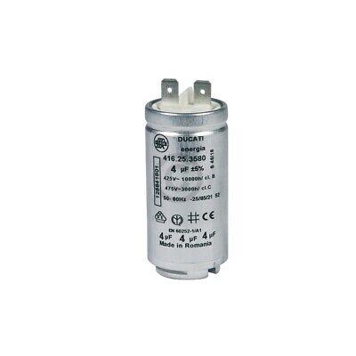 Kondensator AEG 125641801/1 4µF für Geschirrspüler Trockner 2