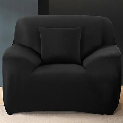 1/2/3/4 Sofa Covers Couch Slipcover Stretch Elastic Fabric Settee Protector Fit 7