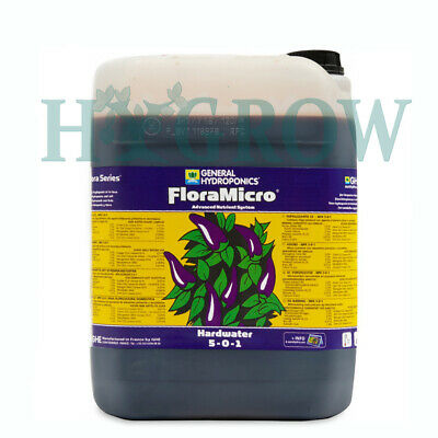 GHE Flora Series The Original 3 part Nutrient 1LTRS Decant Grow Micro Bloom 6