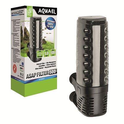Aquarium Innenfilter Aquael ASAP kompl.Serie Schwammfilter Aquarien Filter Pumpe 6