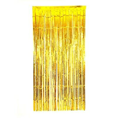 5X Shimmer Door Curtain & Fringe Garlands All Colours and Packs / Foil Curtains 8