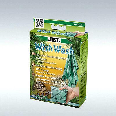 JBL WishWash Innovatives Reinigungstuch + Schwamm für Aquarien und Terrarien 2 • EUR 9,19