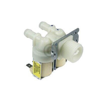 Magnetventil 2-fach LG 5220FR1251E für Waschmaschine 180° 12mmØ 2