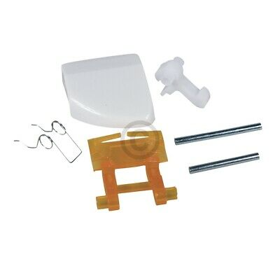 Türgriff wie EBD 719003400 weiß mit Schließnase für Waschmaschine 3