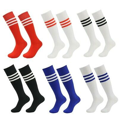 New Football Stripe Socks Rugby Hockey Soccer Free Delivery Mens Womens Kids UK 2