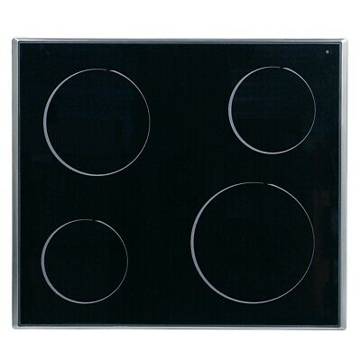 Glaskeramikplatte Whirlpool 481244039792 für Kochfeld Herd 2