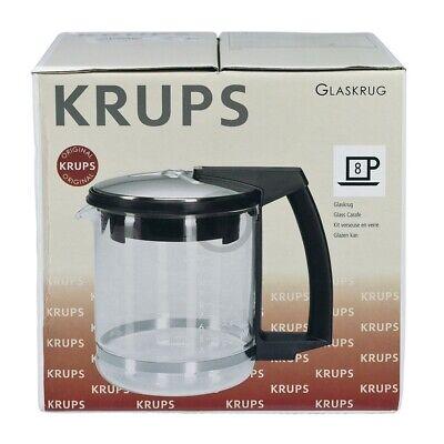 Glaskanne KRUPS F0464210F mit Filter und Deckel für Filterkaffeemaschine Druckbr 3