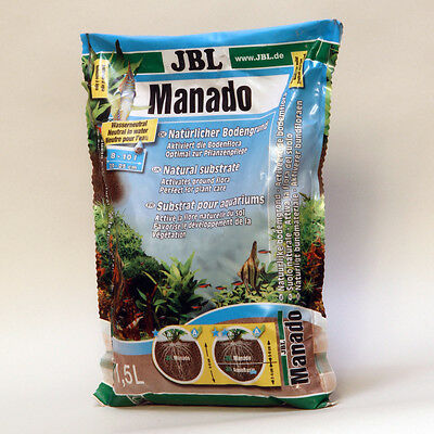 JBL Manado 1,5 l  Naturbodengrund der filtert und Pflanzenwuchs fördert 2