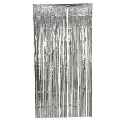5X Shimmer Door Curtain & Fringe Garlands All Colours and Packs / Foil Curtains 9