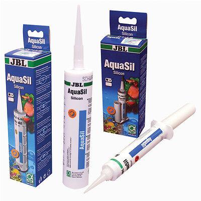 JBL AquaSil 80 ml  schwarz Silicon für Aquarien und Terrarien Aquarienkleber 5