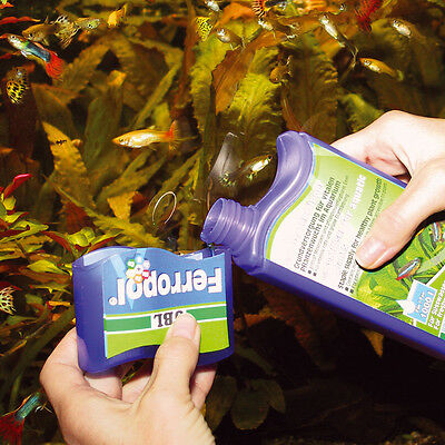 JBL Ferropol flüssiger Volldünger 500 ml für 2000 L in pflanzenverfügbarer Form 2