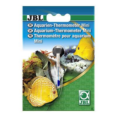 JBL Aquarien-Thermometer Mini ungiftige Füllung 6 cm lang 0 - 50° C Feinskala 3