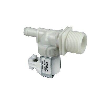 Magnetventil 1-fach 180° 11,5mm wie Whirlpool 481228128462 für Geschirrspüler 2