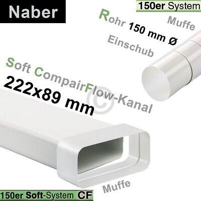 Umlenkstück 150erSCF/150erR Naber mit Schlauch 500mm 2