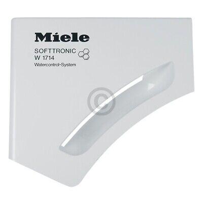 Griffplatte Miele 6660131 mit Griffmulde für Waschmitteleinspülschale Schublade 2