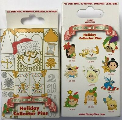 Disney Parks Disneyland It's a Small World Holiday CINDERELLA Mystery Pin LE 500 2
