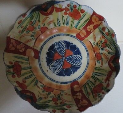 Anique Imari Bowl Made In Mid 19Th Century In China For Export To Japan 3