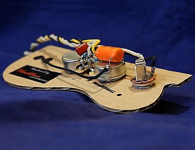 READY BUILT FENDER Jaguar Wiring Upgrade Loom Harness Kit ... on
