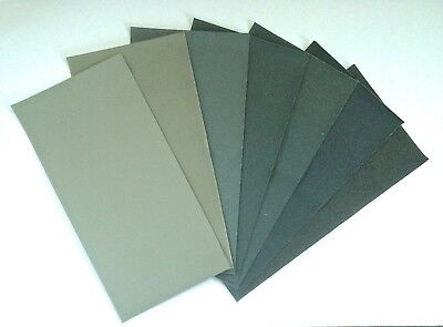 MicroMesh Assorted Grit Sheets 6 x 3 inches (15.2cm x 7.6cm) 5