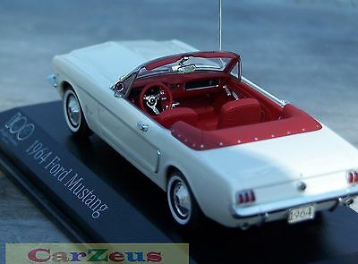 Ford mustang convertible 1964 minichamps