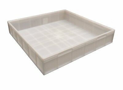 Square Plastic Stacking Food Grade Pizza Dough Bakery Trays -Commercial Quality! 3