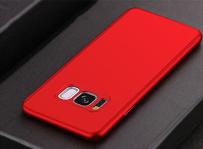Luxury 360 Degree Full Cover Phone Shockproof Case For Samsung Galaxy S9 S8 Plus 6