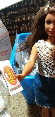 Miniature specialty candy barbie shopkin lps diorama 1:6 10pc 6