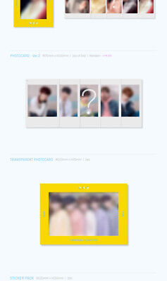 TXT THE DREAM CHAPTER:STAR Album CD+POSTER+Photo Book+3p Card+2ea Sticker SEALED 8