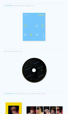 TXT THE DREAM CHAPTER:STAR Album CD+POSTER+Photo Book+3p Card+2ea Sticker SEALED 7
