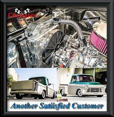 Apache Pickup Truck 4 Row WR Radiator 1955 1956 1957 1958 1959 Chevy 3100