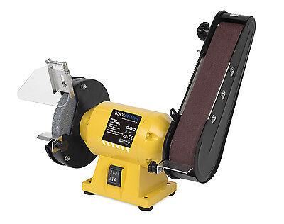 Free 21 Belts 150Mm Bench Grinder Linisher Sanding Grinding Wheel Belt Sander 4
