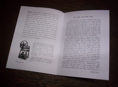 Elgin Upright Hit Miss Gas Engine Sales Booklet Phamplet Before Maytag Upright ! 8