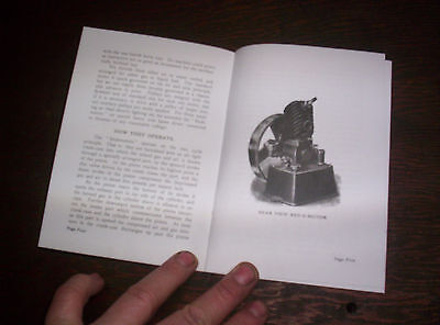 Elgin Upright Hit Miss Gas Engine Sales Booklet Phamplet Before Maytag Upright ! 6