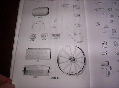 "Waterloo Boy Type ""K"" Hit & Miss Gas Engine Repairs & Price List #11 120 Pages ! 7"