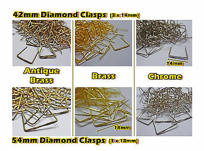 Chandelier Crystals Glass Drops Parts Clasps Beads Pins Rings Hangers Droplets 7