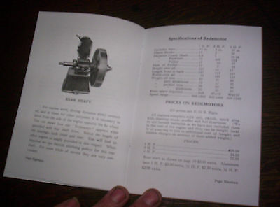 Elgin Upright Hit Miss Gas Engine Sales Booklet Phamplet Before Maytag Upright ! 9