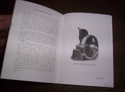 Elgin Upright Hit Miss Gas Engine Sales Booklet Phamplet Before Maytag Upright ! 5