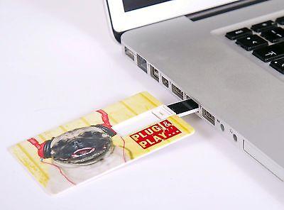 Usb Stick 4 Gb Scheckkartenformat Kreditkarte Visitenkarte