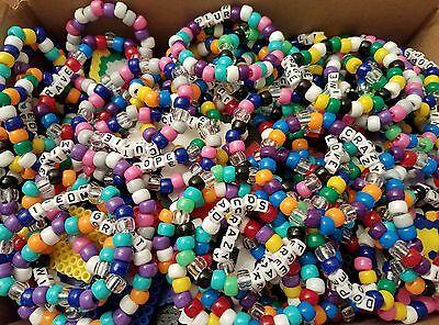 4 Of 5 20 Random Rave Kandi Bracelets Edm Plur
