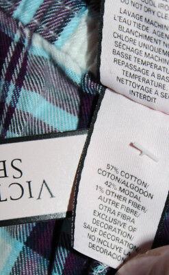NWT Victoria's Secret Multi-Color Cotton Blend Pajama Pants sz XL 8