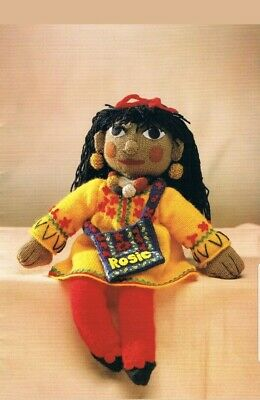 Rosie and Jim toy knitting pattern and collection 7 patterns please see pics