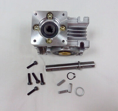 NMRV030 Ratio 30:1 NEMA23 Worm Gear Stepper Motor Speed Reducer 4.2A L112mm CNC