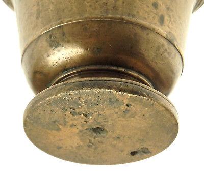 Originaler Massiver Glocken Mörser Bronze Deutsch Um 1580 Sächsische Sammlung 4